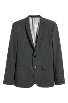 Wool jacket Skinny fit