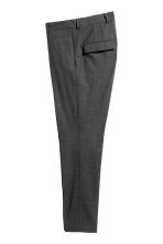 Pantaloni in lana Skinny fit - Grigio scuro -  | H&M IT 2