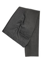 Wool suit trousers Skinny fit - Dark grey -  | H&M CA 3