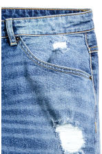 Skinny Regular Trashed Jeans - Bleu denim - HOMME | H&M FR 4