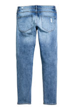Skinny Regular Trashed Jeans - Bleu denim - HOMME | H&M FR 3