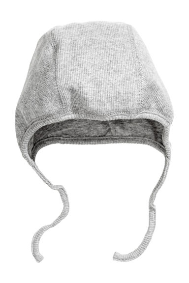 Jersey hat - Grey marl - Kids | H&M CN 1