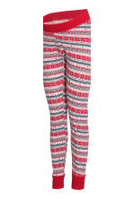 MAMA Pyjamas - Grey/Red - Ladies | H&M GB 3