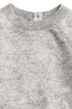 Fine-knit cashmere jumper - Grey marl - Kids | H&M CN 4