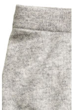 Fine-knit cashmere trousers - Grey marl - Kids | H&M CN 2