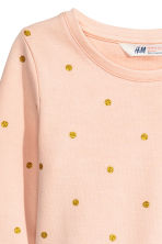 Sweatshirt dress - Powder/Spotted - Kids | H&M CN 3