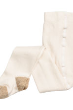 2-pack tights - Natural white - Kids | H&M CN 3