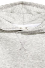 Hooded top - Light grey marl - Kids | H&M CN 3