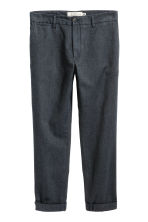 Pantaloni eleganti cropped - Blu scuro - UOMO | H&M IT 2