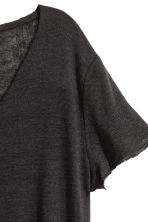 V-neck top - Black - Ladies | H&M CN 3