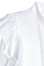 Frilled blouse - White - Ladies | H&M IE 3