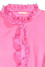 Frilled blouse - Pink - Ladies | H&M CN 3