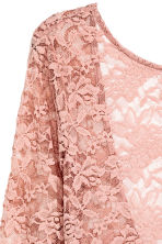 Lace body - Old rose - Ladies | H&M CN 3
