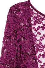 Lace body - Dark purple - Ladies | H&M CN 3
