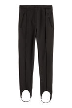 Stirrup trousers - Black - Ladies | H&M GB 2