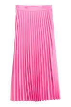 Pleated skirt - Pink -  | H&M GB 2
