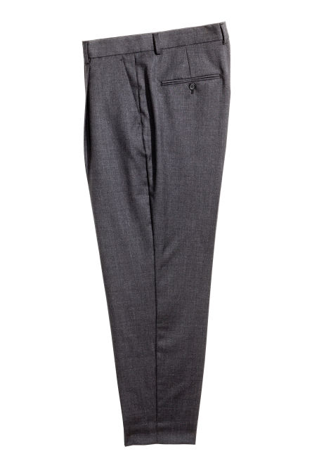 Wollen broek - Relaxed fit