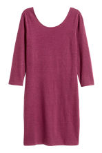 Jersey dress - Dark heather purple - Ladies | H&M CN 2