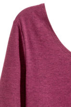 Jersey dress - Dark heather purple - Ladies | H&M CN 3