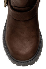 Pile-lined boots - Dark brown - Kids | H&M CN 3