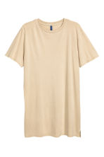 Long T-shirt - Beige - Men | H&M CN 2