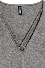 V-neck body - Grey - Ladies | H&M CN 3