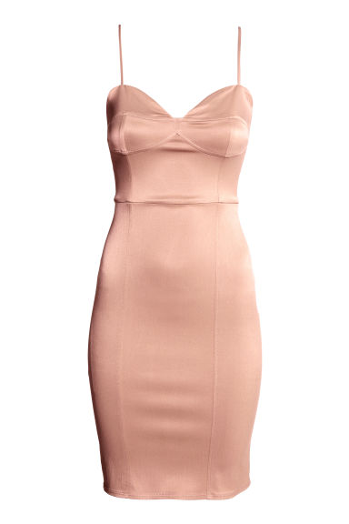 Sleeveless dress - Powder pink - Ladies | H&M CA
