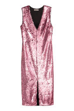 Abito a V con paillettes - Rosa - DONNA | H&M IT 2