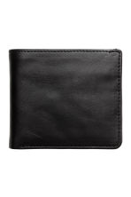 Leather wallet - Black - Men | H&M 1