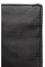 Leather wallet - Black - Men | H&M 2