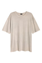 Wide T-shirt - Grey beige - Men | H&M CN 2