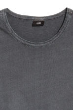 Wide T-shirt - Dark grey - Men | H&M CN 3