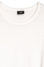 Wide T-shirt - White - Men | H&M CN 3