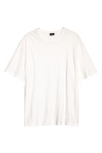 Wide T-shirt - White - Men | H&M CN 2