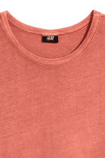 Wide T-shirt - Rust - Men | H&M CN 3