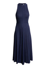 Sleeveless dress - Dark blue - Ladies | H&M CN 2