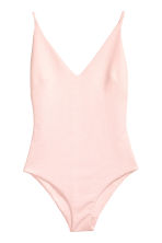 V-neck body - Powder pink - Ladies | H&M CN 2