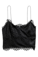 Bustier in pizzo - Nero - DONNA | H&M IT 2