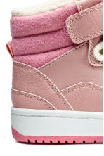 Warm-lined trainers - Powder pink - Kids | H&M CN 4
