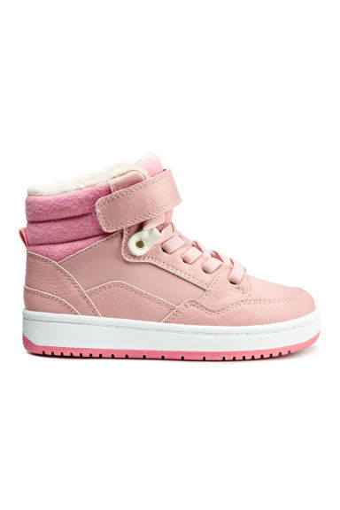 Warm-lined trainers - Powder pink - Kids | H&M CN 1