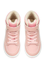 Warm-lined trainers - Powder pink - Kids | H&M CN 2