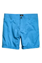 Short chino shorts - Bright blue - Men | H&M CN 2