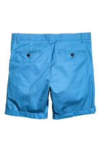 Short chino shorts - Bright blue - Men | H&M CN 3