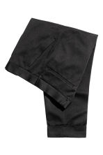 Suit trousers in twill - Black - Men | H&M CN 3