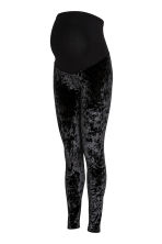 MAMA Leggings velluto riccio - Nero - DONNA | H&M IT 2