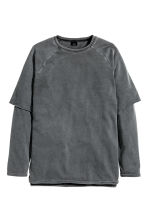 Sweatshirt - Dark grey - Men | H&M CN 2