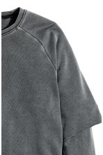 Sweatshirt - Dark grey - Men | H&M CN 3