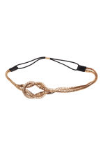 Metal hairband - Gold - Ladies | H&M CN 1