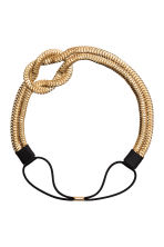 Metal hairband - Gold - Ladies | H&M CN 2