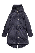 Padded parka - Dark blue - Ladies | H&M CN 2
